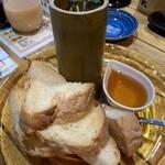 炎家 - 人気の青竹チーズ豆腐