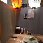 博多屋台ラーメン 一幸舎 - 完全にセパレート