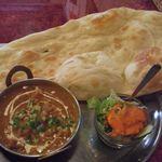 インドレストランアンドバー SITAL - チキンカレーランチ(\700)