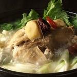 ☆サムゲハンマリ(参鶏湯の水炊き) 一人前