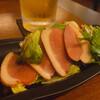 ビストロ シェ リキ - 料理写真:♦︎一番搾り中ジョッキ ¥650 ♦︎かものくんせい   ¥450