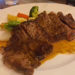 ビストロ シェ リキ - ♦︎国産牛のサーロインステーキ ¥2,300