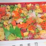 だんしゃく寿司 - 料理写真:ちらし寿司(テイクアウトのみ)