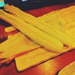 幡が谷のらんぽう - ヤングコーンのオーブン焼き