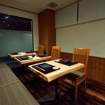 やまざき - テーブル(6~8席まで)
