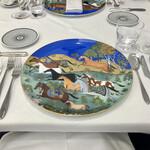 Grand rocher - 日本に14枚こちらしかないお皿