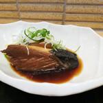 魚屋の居酒屋 魚錠 - 本日の煮魚「ぶり大根」