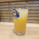 魚屋の居酒屋 魚錠 - グレープフルーツジュース