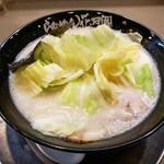 らあめん花月嵐 - 料理写真:塩ラーメン720円+キャベツトッピング(クーポン利用で無料)!