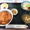 レストラン ふくしん - 料理写真:ヒレカツ丼(サラダ・小鉢付)1,700円