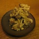 サケカフェハンナ - きのこの塩麹和え