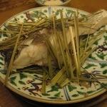 サケカフェハンナ - 鯛のレモングラス蒸し
