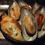 京ちゃばな - ムール貝のガーリックオイル焼き