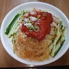 鴻翔中国料理 四川閣 - 料理写真:真っ赤な棒棒鶏ソースが目を引きます