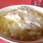 中華料理 紅蘭 - ワンタンメン(大盛り)