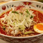 博多担々麺 とり田 - 博多担々麺(920円)