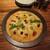 ぶどうの花 - 料理写真:夏野菜の味噌ピザ 850円(2020年6月)