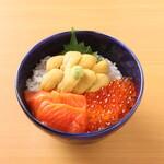 三色丼(レギュラーサイズ)