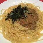 Tsuji家 - 納豆ペペロンチーノ