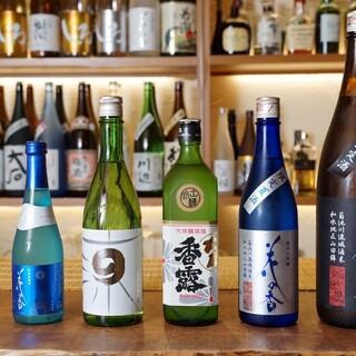 熊本の地酒ば豊富に取り揃えているとよ。