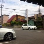 平塚ラーメン - 外の景色