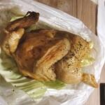 田辺養鶏園 - 若鶏半身素揚げ