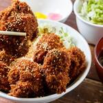 きんぐ食堂 - チキンソースカツ丼