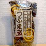 13174735 - 店内で買える、小川産業「つぶまる」麦茶。粒を砕かず、二度焙煎で六条大麦の香りを生かす