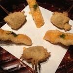 Kushitei - 宮崎産地鶏のネギマと鯵