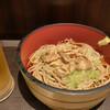 さ竹 - 料理写真:冷やし肉そば 500円