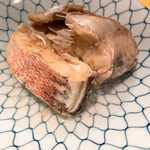 ゆうき丸 - 鯛  煮物  ポン酢でいただきます