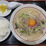 中央軒 - ちゃんぽん定食(ライス)