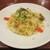 Gentile - 料理写真:本日のパスタ:帆立貝柱とキャベツのアンチョビ風味オイルソース スパゲッティ。      2020.06.18