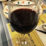 奥乃壱丁目壱番地 - 赤ワインはグラスが・・・