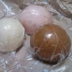 井本菓子店 - 栗入りまんじゅう