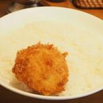 Jinkokku - ライス+カニクリームコロッケ