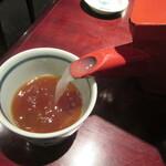 たけがみ 一轍蕎麦 - 自然体の蕎麦湯