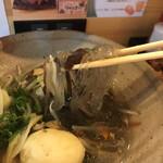 襷食堂 - 春雨麺でヘルシー!