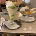 マヅラ喫茶店 - パフェとアラモード
