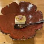 水嶋 - 料理写真:自家製胡麻豆腐