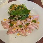 ラマーノディマルコ - 料理写真:自家製豚サラミ