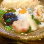 冨美家 - 冨美家鍋うどん ¥720(税別)