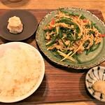 RIBAYON ATTACK - 200617水 東京 RIBAYON ATTACK 青椒肉絲定食