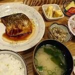 お食事処 こづち - 日替わり定食(さばの煮付け)[¥980]2020年3月