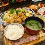 お食事処 こづち - 季節限定 カキフライ定食[¥1200]2020年2月