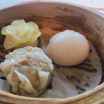 中国料理 皇苑 - 三種蒸し点心