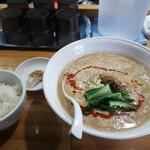 口福 - 料理写真:担々麺 +ライス