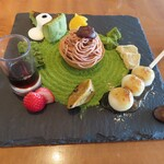 OMATCHA SALON - 抹茶スイーツ盛り合わせZEN