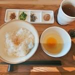 キノトヤ カフェ - 料理写真:ユートピアの たまごかけごはん 500円