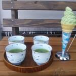 八万寿茶園 -